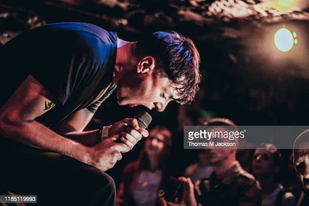 Mez Green of Life performs at Think Tank on November 02, 2019 in Newcastle upon Tyne, England.
