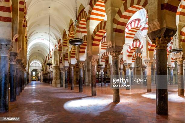 mezquita de cordoba - cathedral stock pictures, royalty-free photos & images