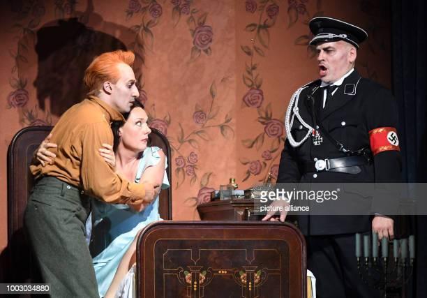 Mezzosoprano Magdalena Kozena portraying Marguerite tenor Charles Castronovo portraying Faust and bassbaritone Florian Boesch portraying...