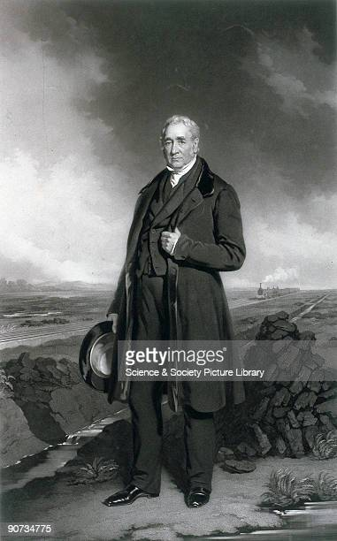 Mezzotint by Thomas Lewis Atkinson after an original oil painting by John Lucas c 1830s A largely selfeducated man George Stephenson�s early working...