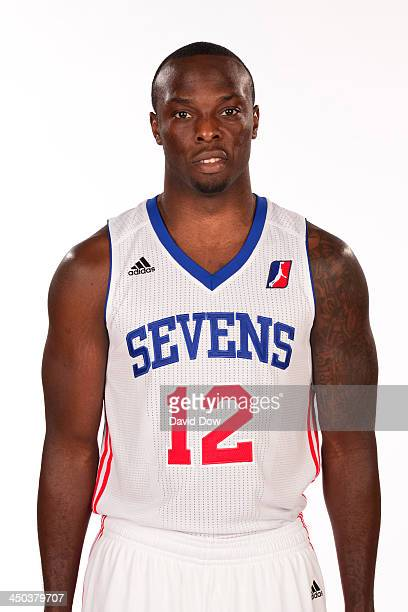 Mfon Udofia of the Delaware 87ers poses for a headshot during Media Day on November 14 2013 in Wilmington Delaware NOTE TO USER User expressly...