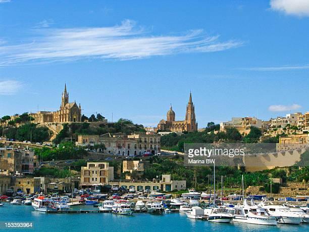 Mgarr Harbor Gozo Malta