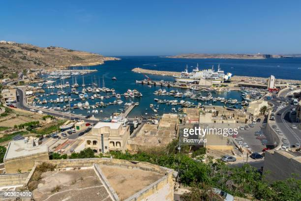 Mgarr Harbour – the gateway to Gozo island