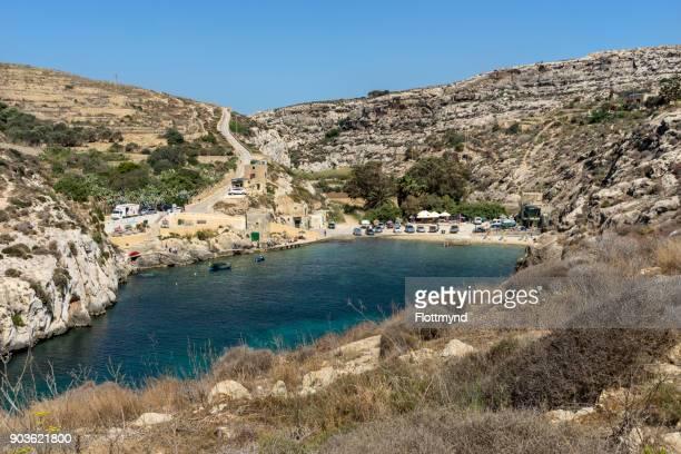 Mgarr ix-Xini is a bay close to Sannat on the Maltese island of Gozo