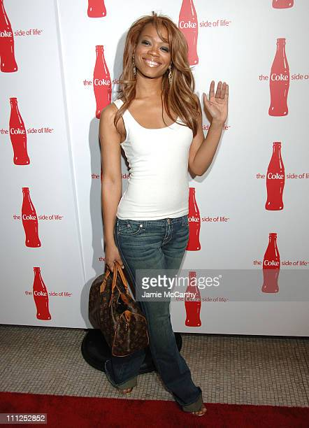Mia during Coca Cola's 'Coke Side Of Life' Launch Party at Capitale in New York City at Capitale in New York City New York United States