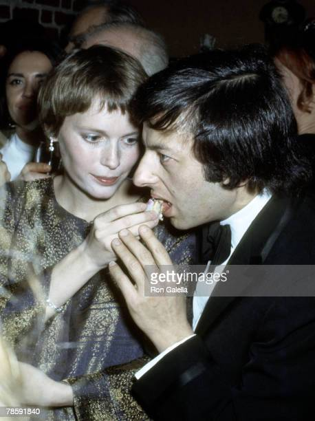 Mia Farrow and Andre Previn