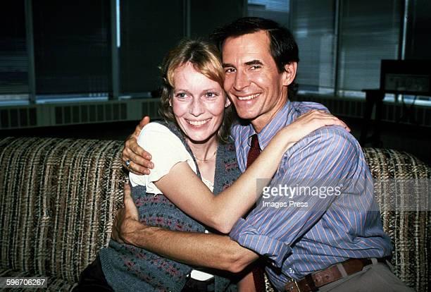 Mia Farrow and Anthony Perkins circa 1979 in New York City