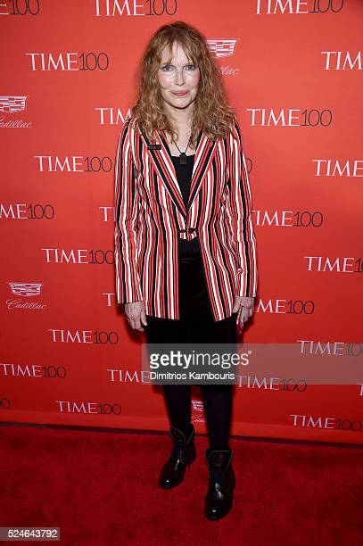 Mia Farrow attends 2016 Time 100 Gala Time's Most Influential People In The World red carpet at Jazz At Lincoln Center at the Times Warner Center on...