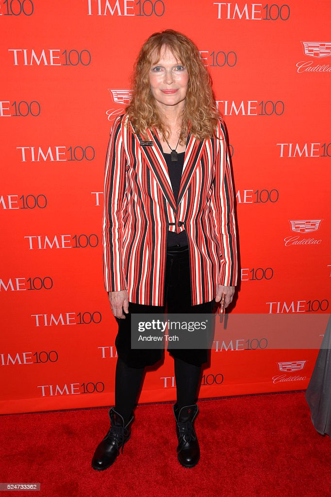 Mia Farrow attends the 2016 Time 100 Gala at Frederick P. Rose Hall, Jazz at Lincoln Center on April 26, 2016 in New York City.