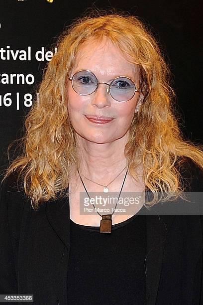Mia Farrow attends the Leopard Club Award during the 67th Locarno CFilm Festival on August 8 2014 in Locarno Switzerland