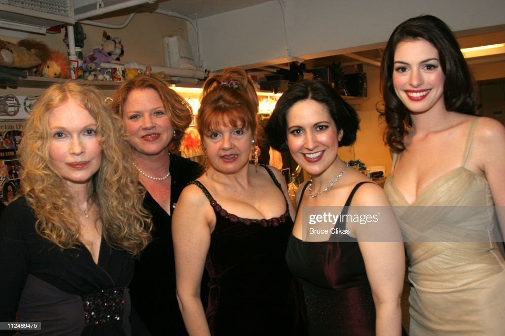 Mia Farrow, Becky Ann Baker, Annie Golden, Stephanie D'Abruzzo and Anne Hathaway *exclusive*