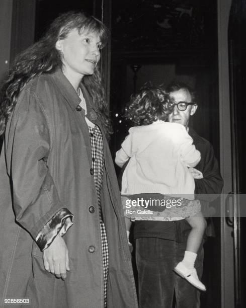 Mia Farrow Dylan Farrow and Woody Allen