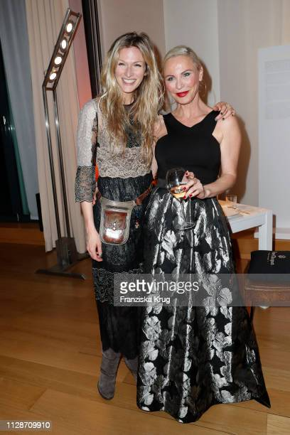 Mia Florentine Weiss and Nadja Michael during the Veuve Clicquot Business Woman Award 2019 at French Embassy on March 4, 2019 in Berlin, Germany.