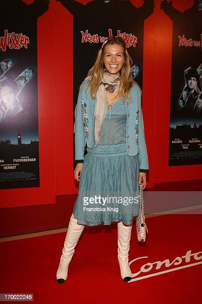 """Mia Florentine Weiss At the arrival to """"New From Wixxer"""" Premiere In Mathäser Filmpalast In Munich ."""