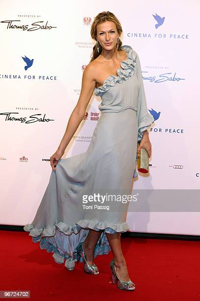 Mia Florentine Weiss attends the Annual Cinema For Peace Gala during day five of the 60th Berlin International Film Festival at the Konzerthaus am...