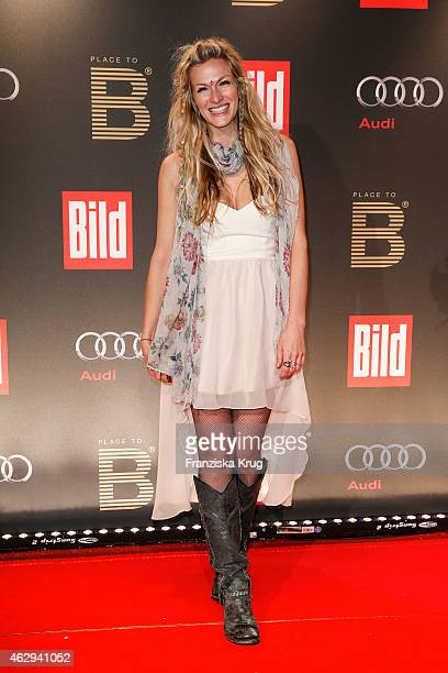 Mia Florentine Weiss attends the Bild 'Place to B' Party on February 07 2015 in Berlin Germany