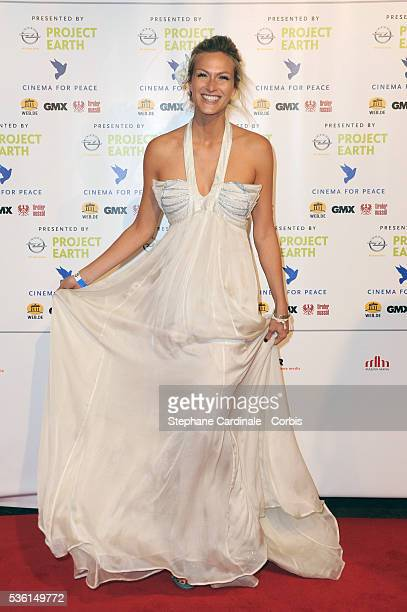 Mia Florentine Weiss attends the Cinema for Peace Gala at the Konzerthaus Am Gendarmenmark during the 61st Berlin International Film Festival