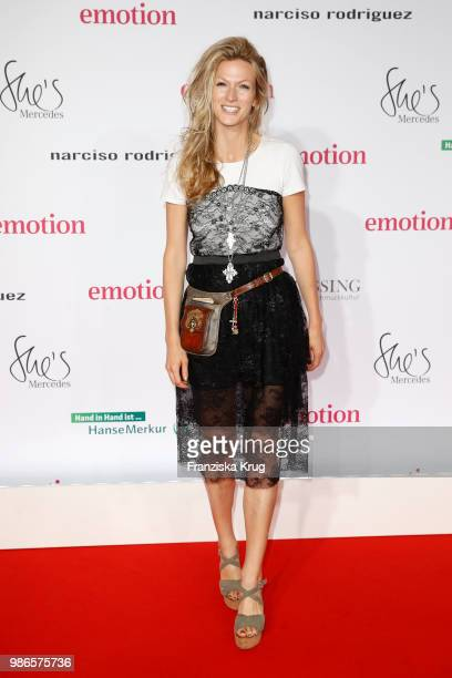 Mia Florentine Weiss attends the Emotion Award at Curiohaus on June 28 2018 in Hamburg Germany