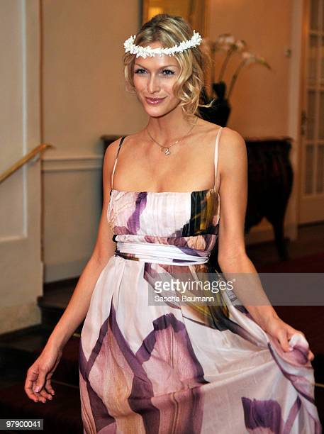 Mia Florentine Weiss attends the Gala Spa Awards at Brenner's Park Hotel on March 20 2010 in Baden Baden Germany