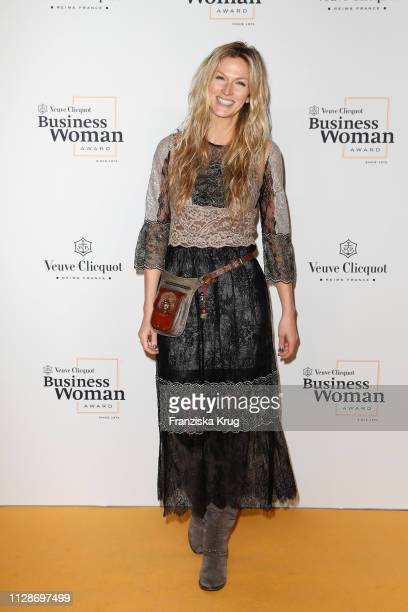 Mia Florentine Weiss during the Veuve Clicquot Business Woman Award 2019 at French Embassy on March 4, 2019 in Berlin, Germany.