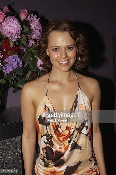 Mia Freedman at the 3rd Annual Christmas Party for Cosmopolitan Magazine held at The Pure Platinum Club in Sydney