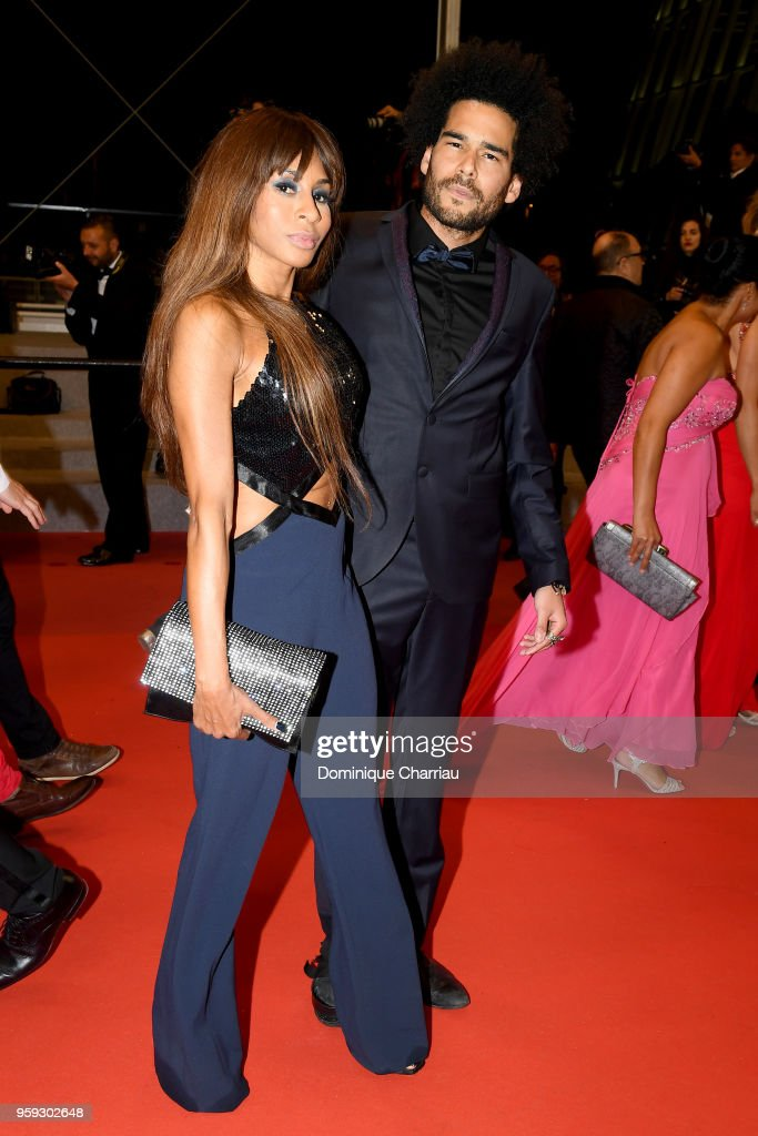 Mia Fry and Alexandre Le Strat attends the screening of 'Whitney' during the 71st annual Cannes Film Festival at Palais des Festivals on May 16, 2018 in Cannes, France.