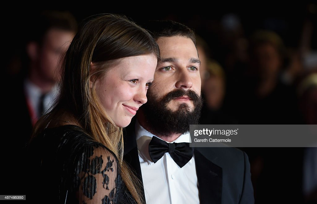 """Fury"" - Closing Night European Premiere Gala Red Carpet Arrivals - 58th BFI London Film Festival : Foto jornalística"