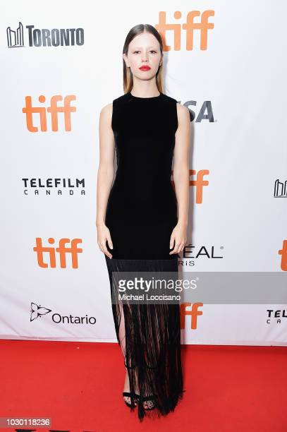 Mia Goth attends the High Life premiere during 2018 Toronto International Film Festival at Roy Thomson Hall on September 9 2018 in Toronto Canada