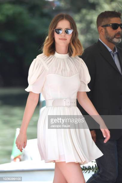Mia Goth is seen during the 75th Venice Film Festival on September 2 2018 in Venice Italy