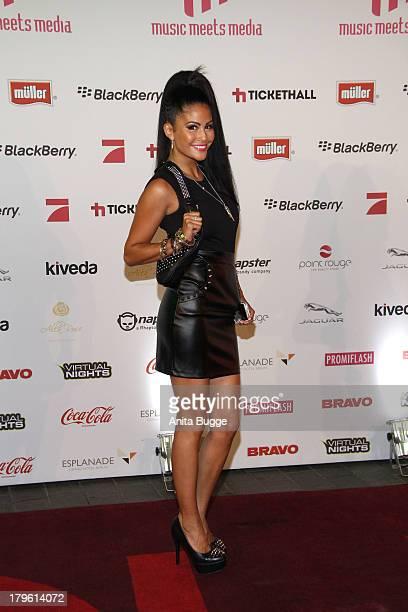Mia Gray attends the Music Meets Media 2013 Award at Grand Hotel Esplanade on September 5, 2013 in Berlin, Germany.