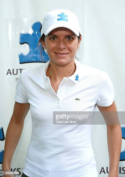 Mia Hamm during First Annual Autism Speaks Golf Classic at Deepdale Golf Club in Manhasset New York United States