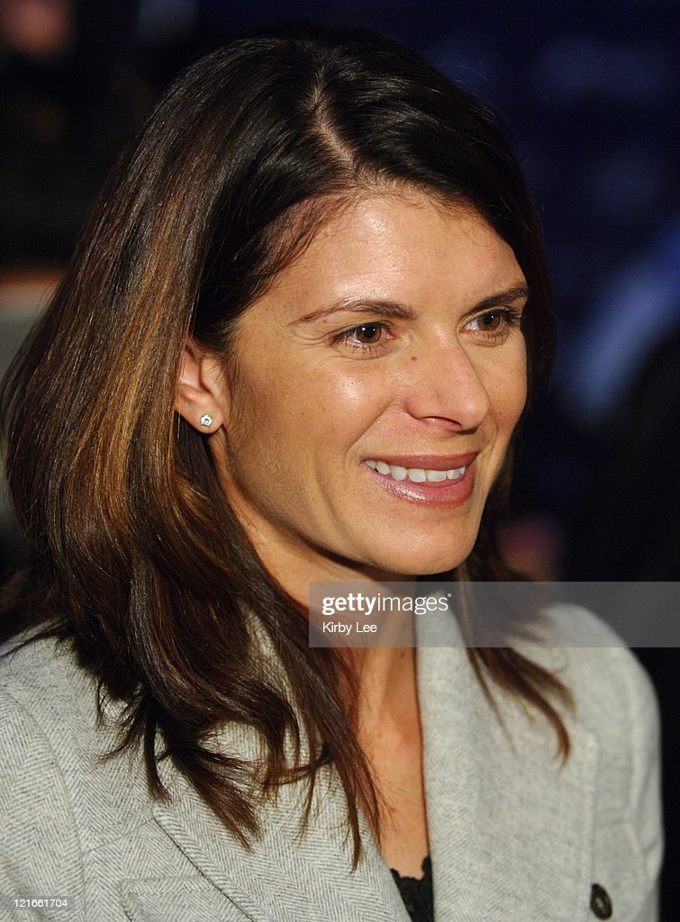 Mia Hamm, wife of Nomar Garciaparra, at Los Angeles Dodger press conference to announce the signing of her husband to a one-year contract at Dodger Stadium in Los Angeles, Calif. on Monday, December 19, 2005.