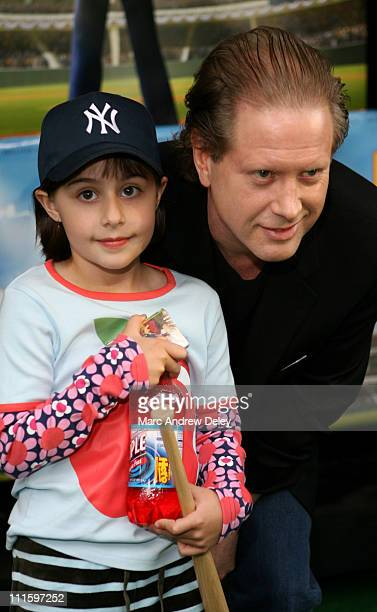 "Mia Hammond and father, Darrell Hammond during ""Everyone's Hero"" - New York City Premiere - Arrivals at AMC Loews Lincoln Square in New York, New..."