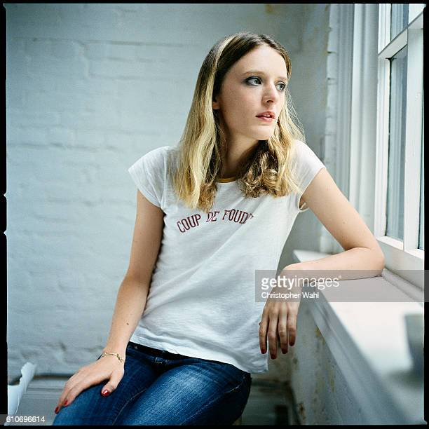 Mia HansenLove is photographed for The Globe and Mail on September 12 2016 in Los Angeles California