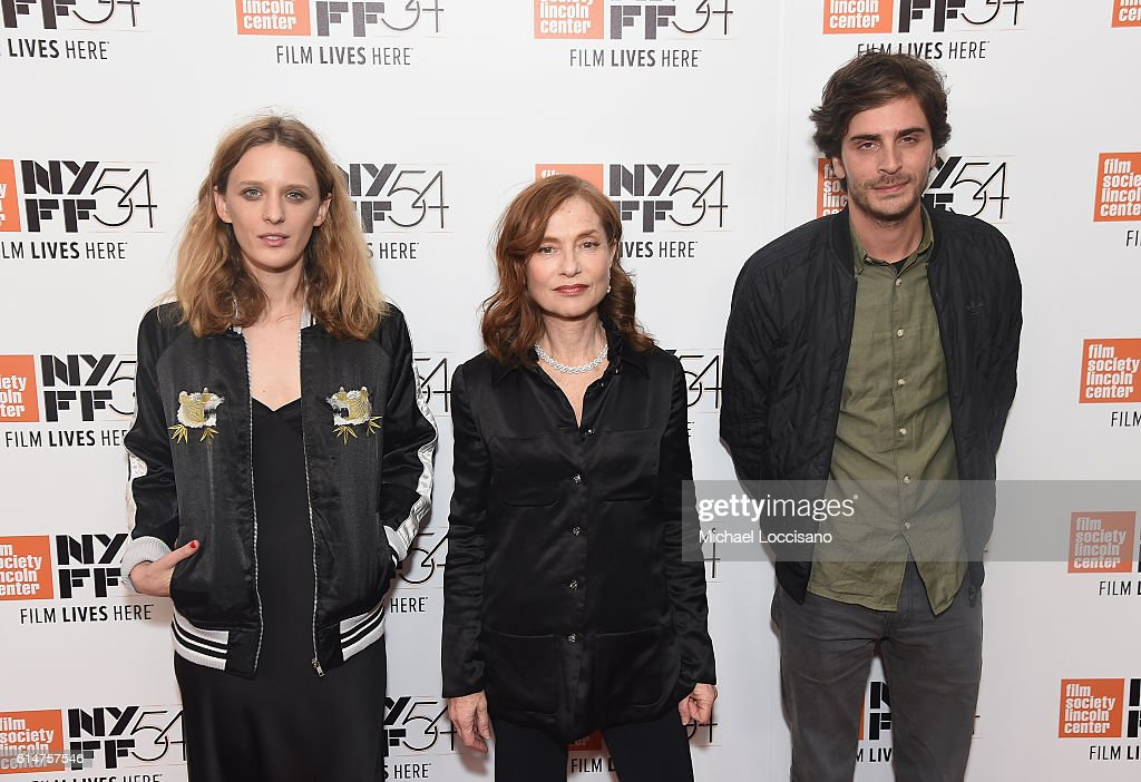 "NY: 54th New York Film Festival - ""Things To Come"" & ""Elle"""
