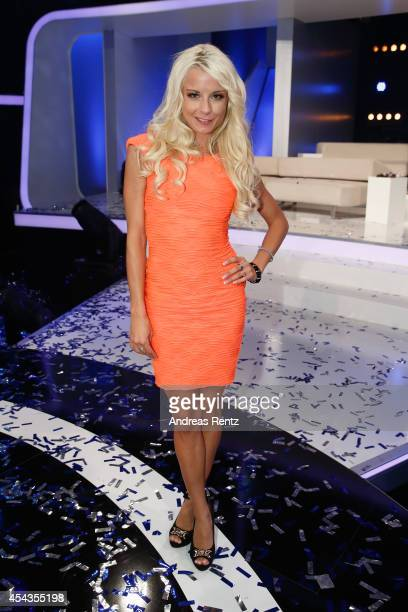 Mia Julia attends the Promi Big Brother finals at Coloneum on August 29 2014 in Cologne Germany