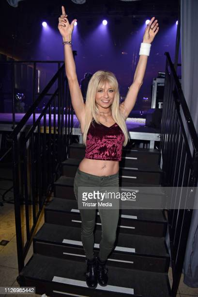 Mia Julia Brueckner during the 'Goodbye Jens Party Stars Halten Zusammen' benefit at Grugahalle on February 23 2019 in Essen Germany