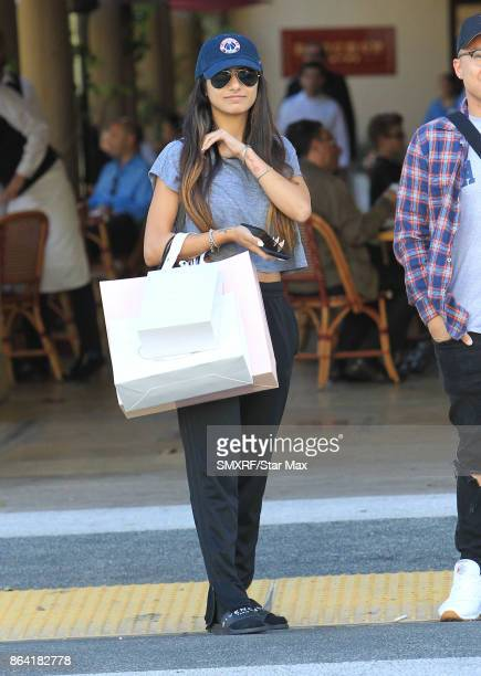 Mia Khalifa is seen on October 20 2017 in Los Angeles CA