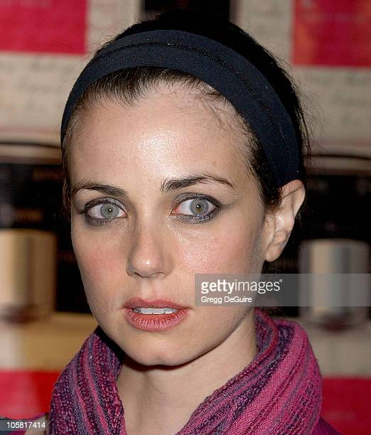 Mia Kirshner during Launch of 'L Eau de Parfum' Inspired by Showtime's 'The L Word' Arrivals at Apothia at Fred Segal Melrose in Los Angeles...