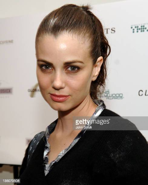 Mia Kirshner during Ports 1961 Hosts Party for Young Hollywood Awards Honorees and Presenters at Curve at Curve in Los Angeles California United...