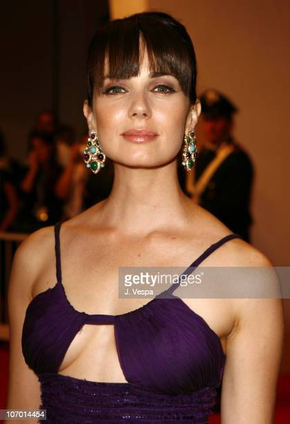 """Mia Kirshner during The 63rd International Venice Film Festival - """"The Black Dahlia"""" Premiere - Red Carpet and Inside at Palazzo Del Cinema in Venice..."""