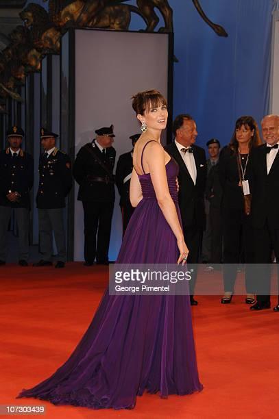 Mia Kirshner during The 63rd International Venice Film Festival 'The Black Dahlia' Premiere Arrivals at Palazzo Del Cinema in Venice Lido Italy