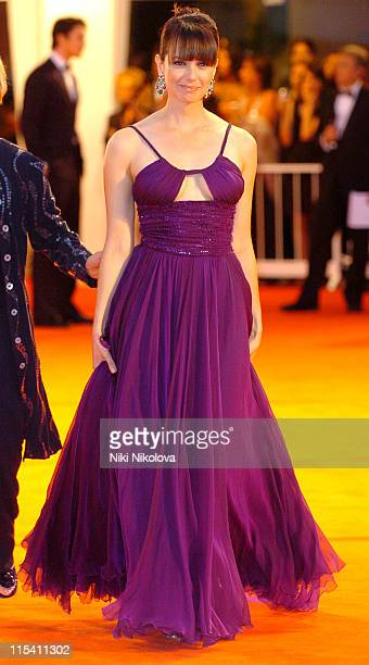 Mia Kirshner during The 63rd International Venice Film Festival 'The Black Dahlia' Premiere Arrivals at Palazzo Del Cinema in Venice Italy
