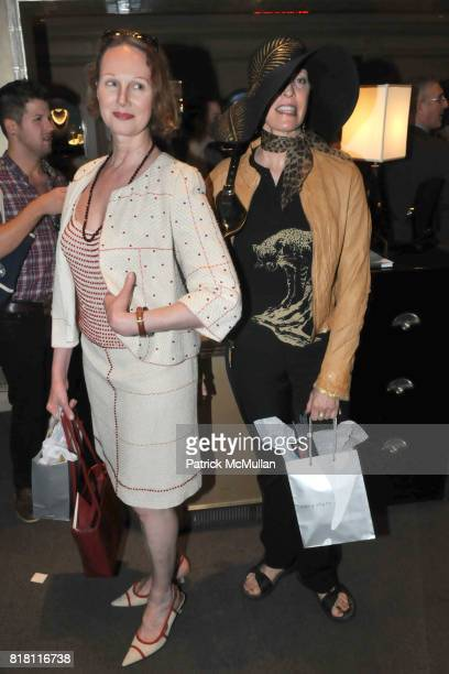 Mia Lancaster and Lee Martins attend FASHION's NIGHT OUT with VAN CLEEF and ARPELS at Van Cleef and Arpels 5th Ave on September 10th, 2010 in New...