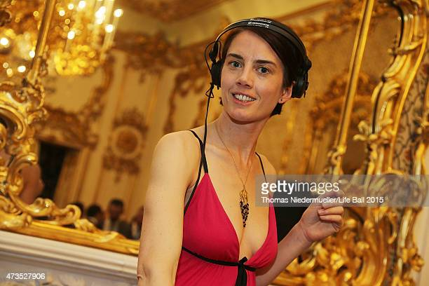 Mia Legenstein performs at the after show party after the Red Ribbon Celebration Concert United in Difference at Burgtheater on May 15 2015 in Vienna...
