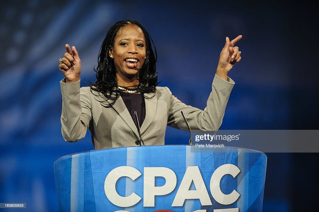 Leading Conservatives Attend 40th Annual CPAC : News Photo