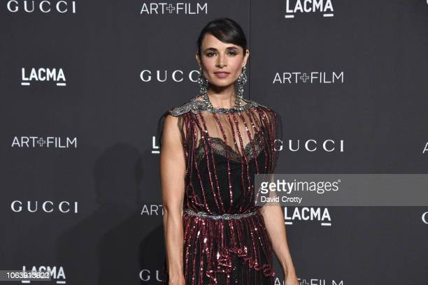 Mia Maestro attends LACMA Art Film Gala 2018 at Los Angeles County Museum of Art on November 3 2018 in Los Angeles CA