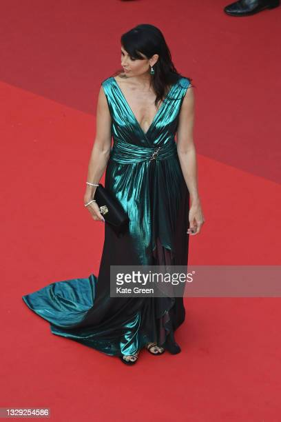 """Mia Maestro attends the final screening of """"OSS 117: From Africa With Love"""" and closing ceremony during the 74th annual Cannes Film Festival on July..."""