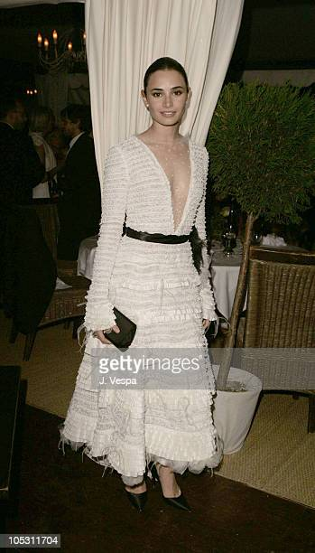 Mia Maestro during 2004 Cannes Film Festival Motorcycle Diaries Party at La Plage Coste in Cannes France