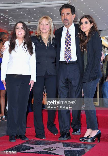 Mia Mantegna Arlene Mantegna actor Joe Mantegna and actress Gia Mantegna attend the star ceremony honoring actor Joe Mantegna with the 2438th star on...